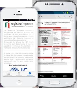 qr code italian business register